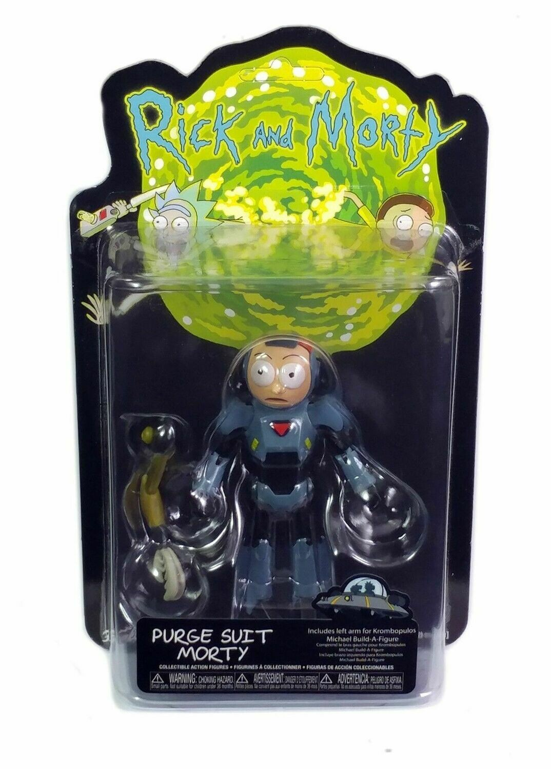 Rick And Morty Purge Suit Morty Figure