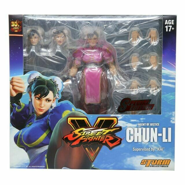 Chung Li Street Fighter V Special Edition