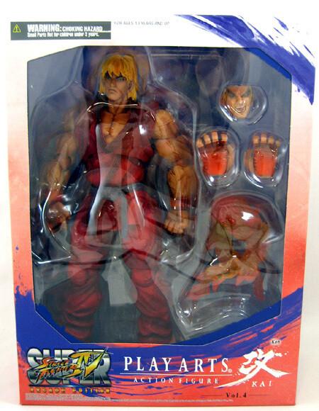 Playarts Action Figure: Street Fighter 4 Ken