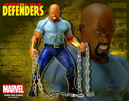 Luke Cage Statue Defenders Series