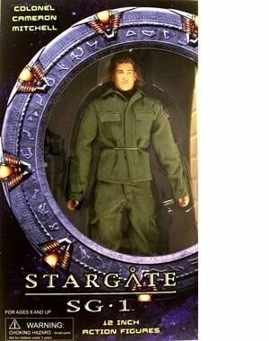 Stargate SG1 12 Inch Colonel Cameron Mitchell