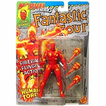 Fantastic Four Fireball Flinging Human Torch