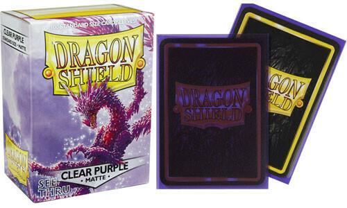 Dragon Shield Matte Clear Purple