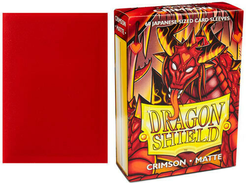 Dragon Shield Matte Crimson JPN