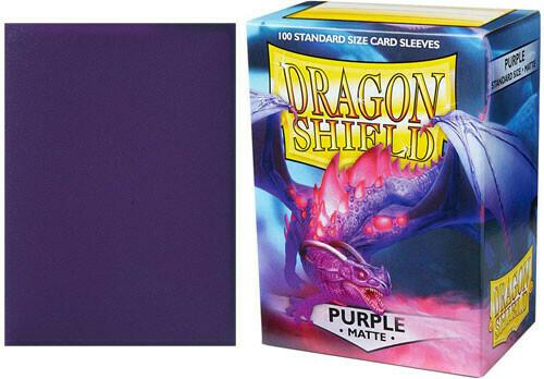 Dragon Shield Matte Purple