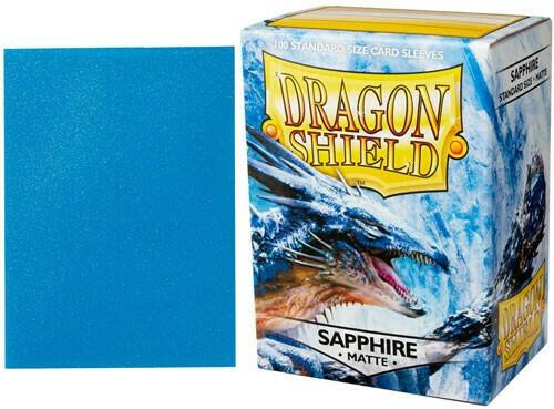 Dragon Shield Matte Sapphire