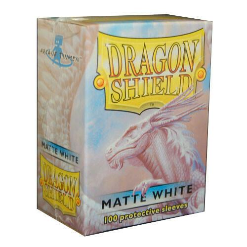 Dragon Shield Matte White