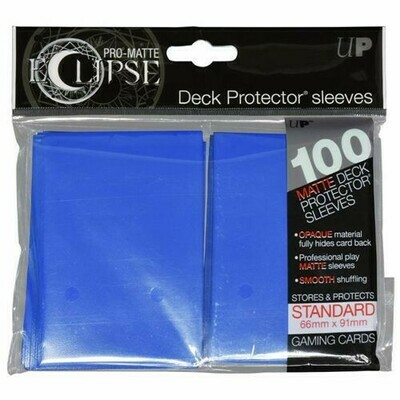PRO MATTE ECLIPSE SLEEVES 100 COUNT BLUE