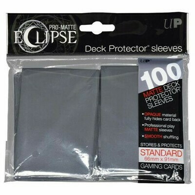 PRO MATTE ECLIPSE SLEEVES GREY 100 CT