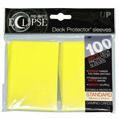 PRO MATTE ECLIPSE SLEEVES YELLOW