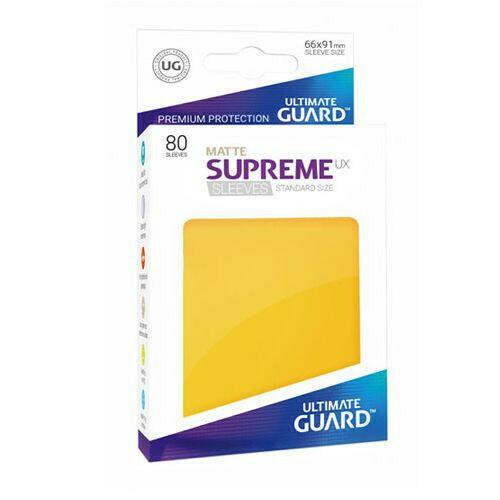 UG Supreme Matte Yellow STD