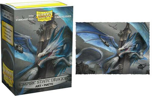 Empire State Dragon Art Matte