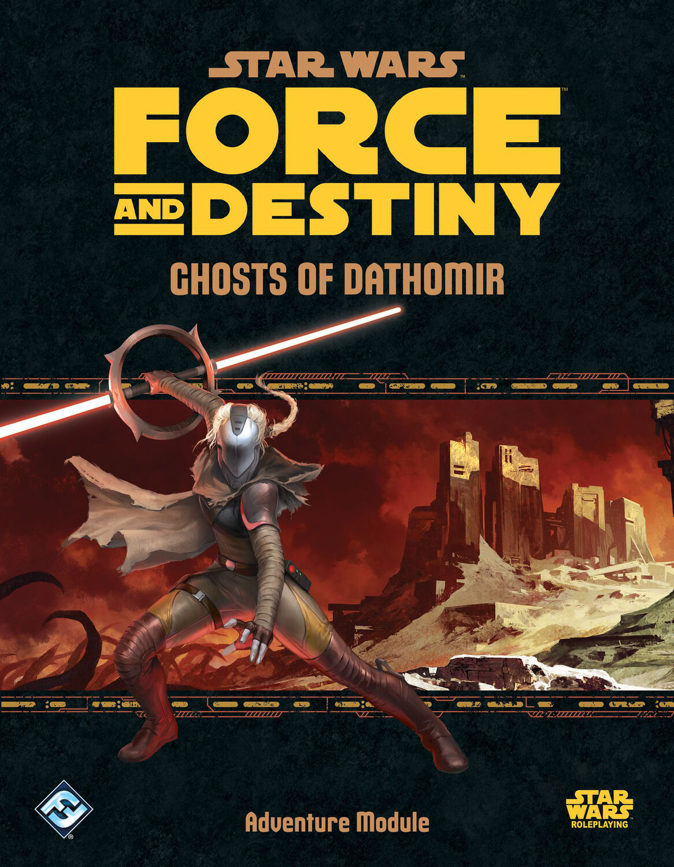 Ghost Of Dathomir Star Wars RPG Force Of Destiny Adventure Module