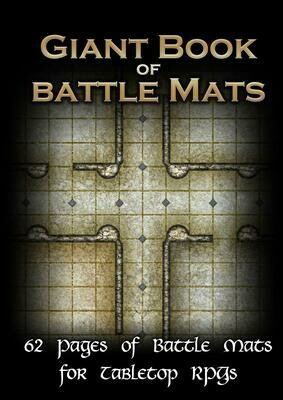 Giant Book Of Battle Mats
