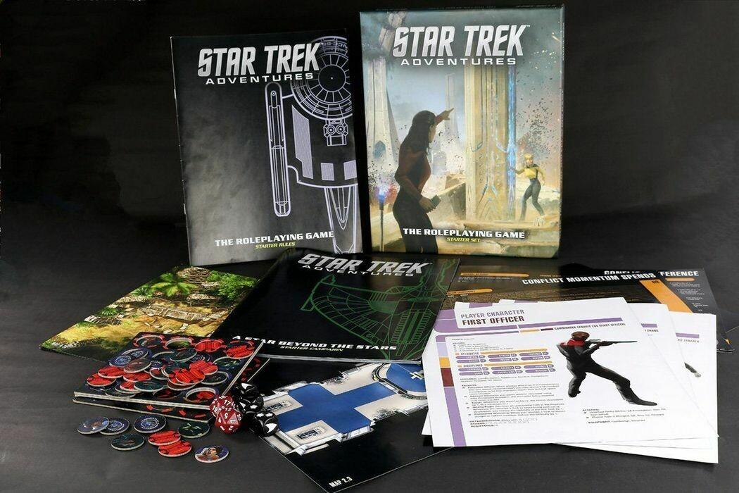 Star Trek Adventures Roleplaying Game Starter Set