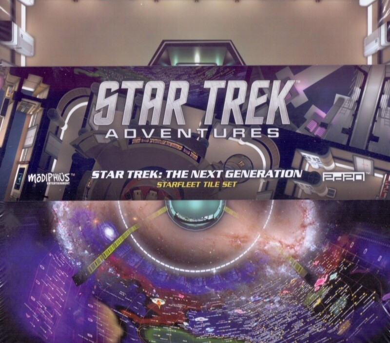 Star Trek Adventures Starfleet Tile Set