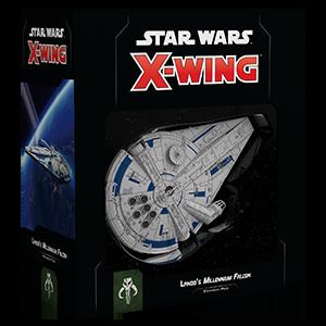 Star Wars X Wing Lando's Millennium Falcon