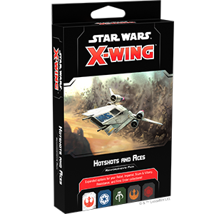 Star Wars X Wing Hotshots And Aces Reinforcement Pack