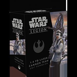 Star Wars Legion 1.4 FD Laser Cannon Team