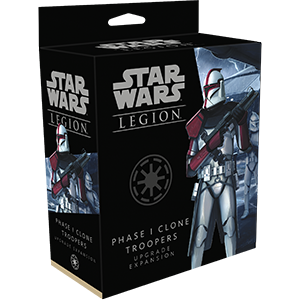 Star Wars Legion Phase 1 Clone Trooper Upgrade Pack