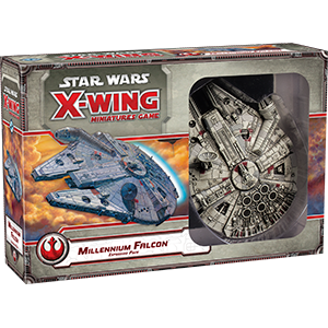 Star Wars X Wing Millennium Falcon 1E