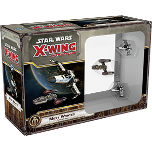 Star Wars X Wing Most Wanted 1E