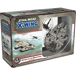 Star Wars X Wing Heroes Of The Resistance 1E
