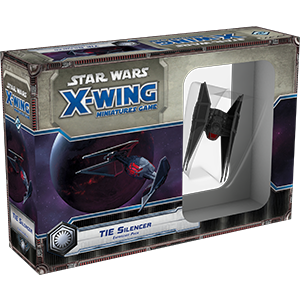 Star Wars X Wing TIE Silencer 1E