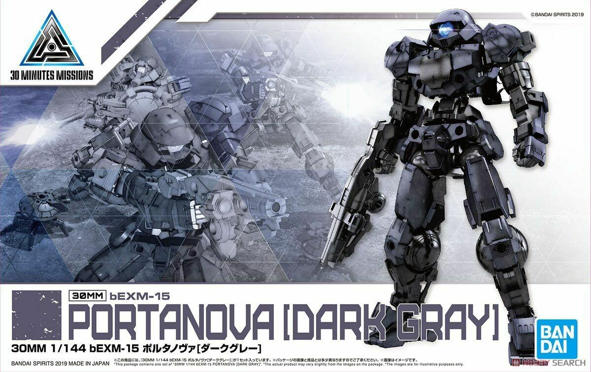 30 MM bEXM 15 Portanova Dark Gray
