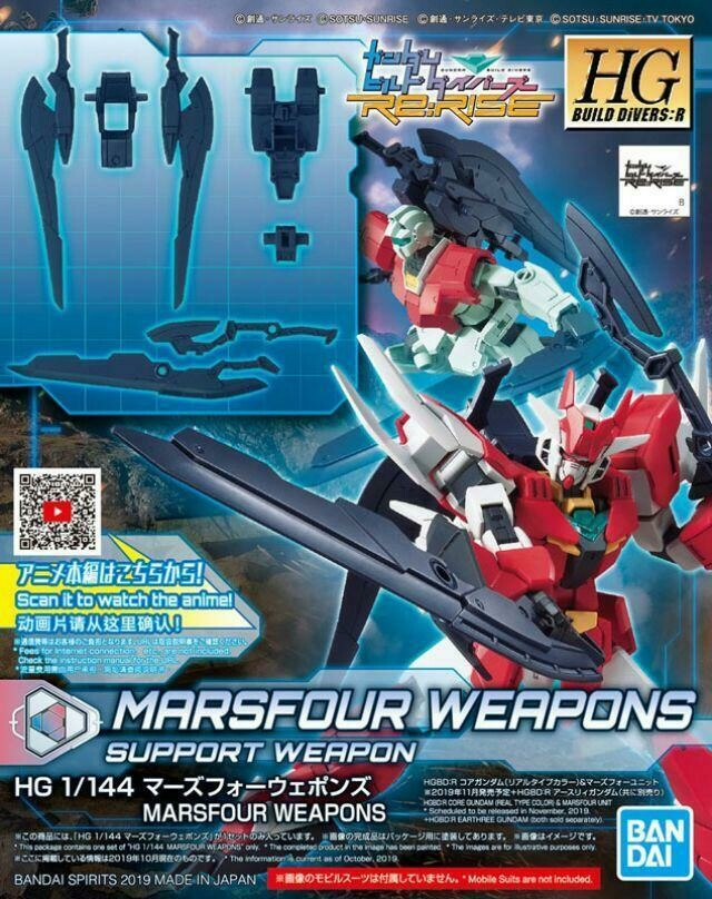Marsfour Weapons GBDRE