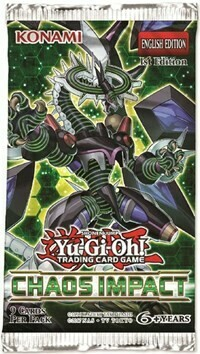 Yu Gi Oh Chaos Impact Booster Pack