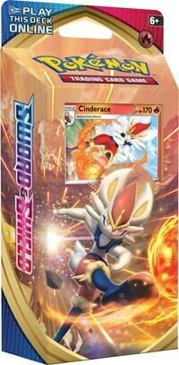 Pokemon TCG Sword And Shield Theme Deck - Cinderace