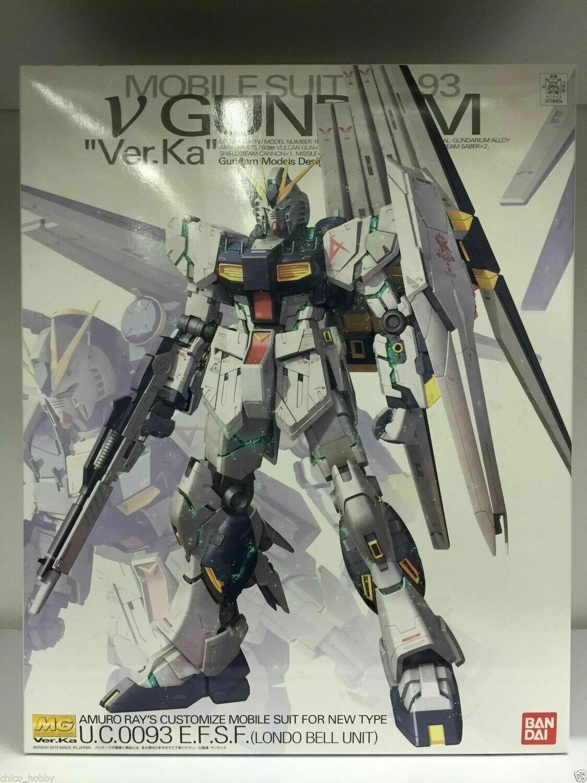 """MG Nu Gundam (Ver. Ka) """"Char's Counterattack"""""""