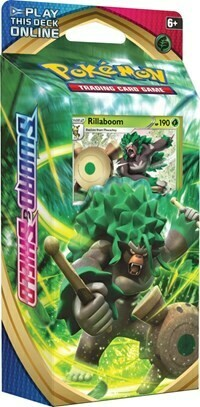 Pokemon TCG Sword And Shield Theme Deck - Rillaboom