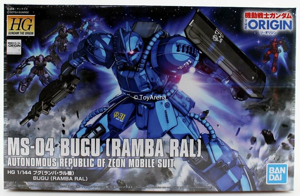 """HG MS-04 Bugu [Ramba Ral] """"The Origin"""""""