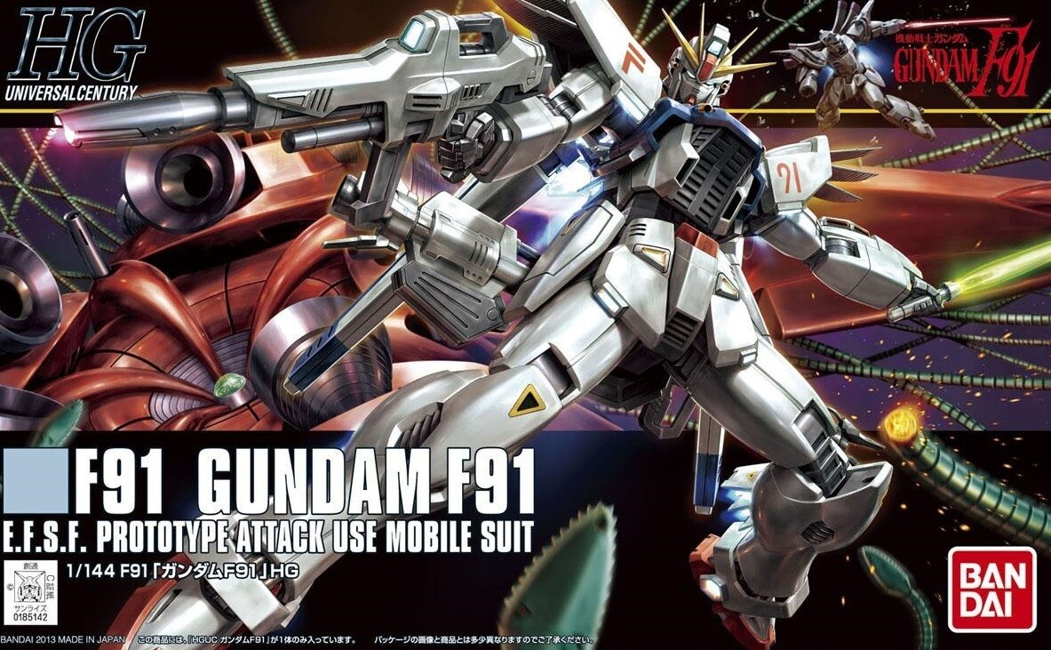 HG Gundam F91