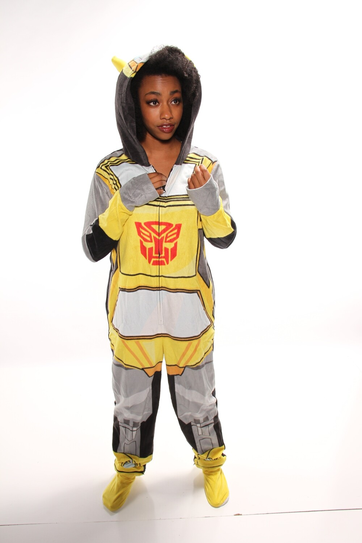 Transformers Bumblebee Onesie  XL