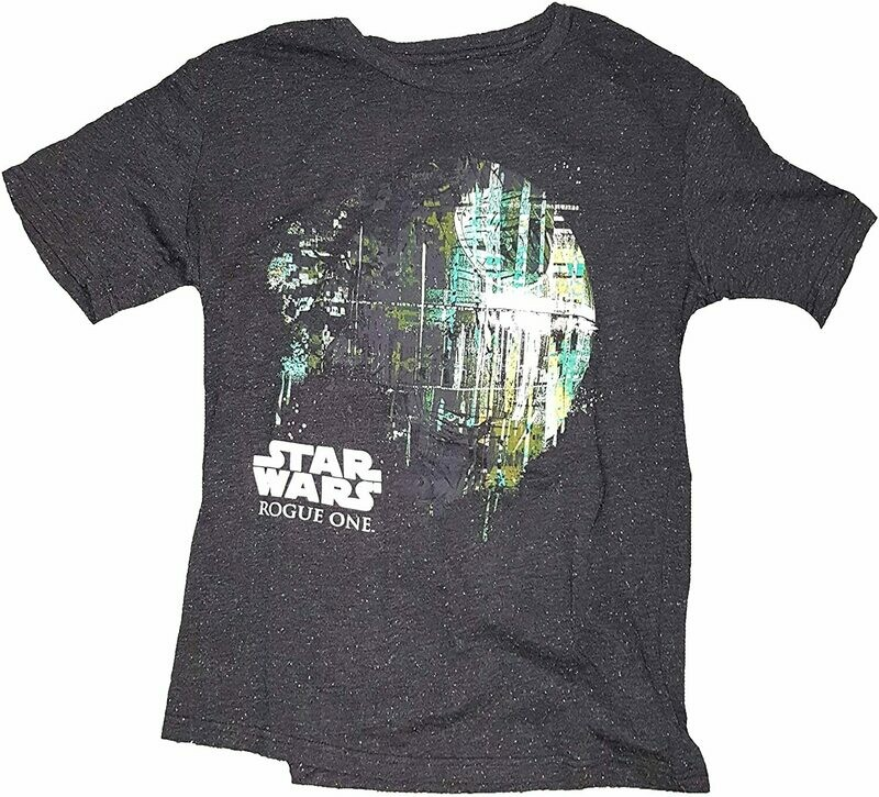 Star Wars Dripping Deathstar T-shirt LG