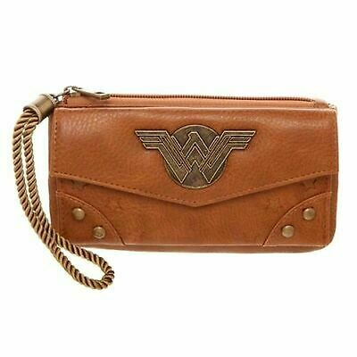 Wonder Woman Movie Top Zip Clutch Wallet
