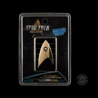 Star Trek Discovery QMX Magnetic Command Insignia Badge Pin