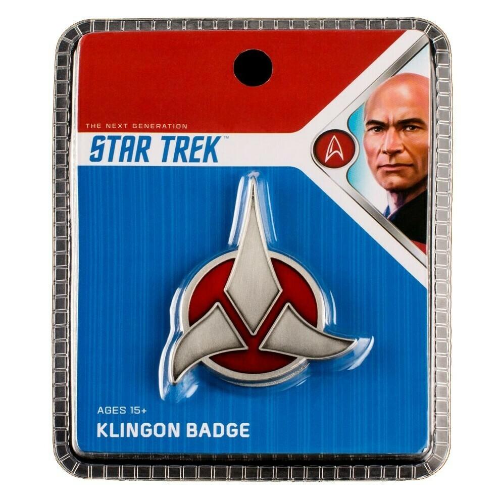 Star Trek Klingon Badge