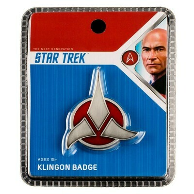 Star Trek Klingon Badge