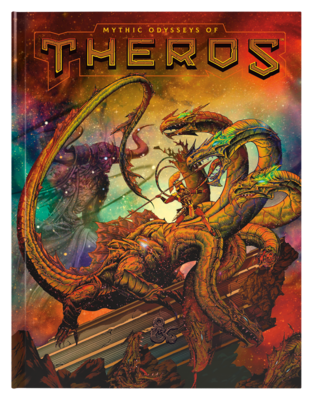 MYTHIC ODYSSEYS OF THEROS / Alternate Art Cover