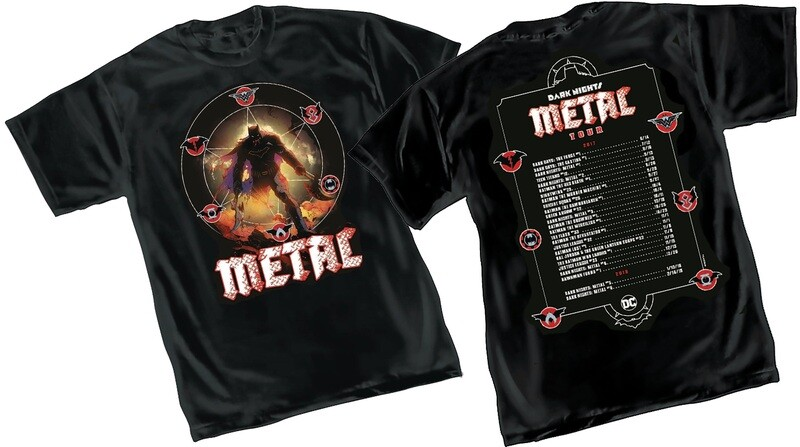 DARK KNIGHTS: METAL TOUR T-shirt XL