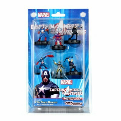 HeroClix Captain America And The Avengers Fast Forces