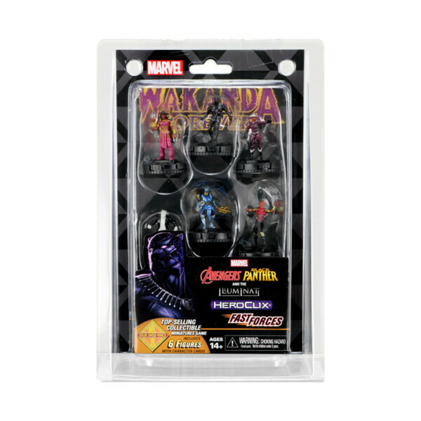 HeroClix Wakanda Forever Fast Forces