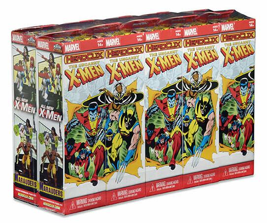 HeroClix Uncanny X-Men