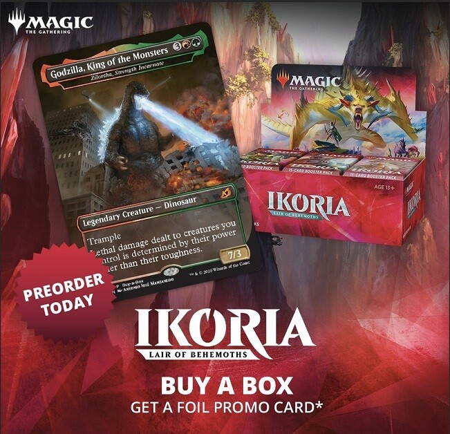Ikoria: Lair Of Behemoths Draft Booster Display (36)