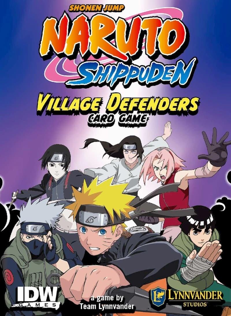 Naruto Shippuden Village Defenders Card Game