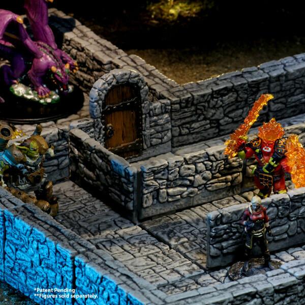 WarLock Tiles Dungeon Tiles